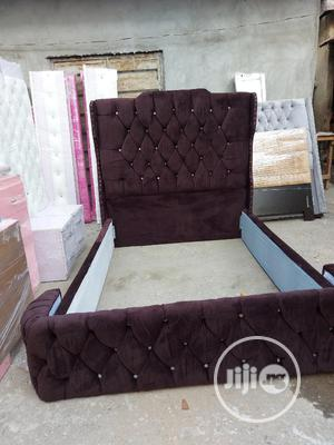 4ndhalf Upholstery Bedframe | Furniture for sale in Lagos State, Ojo