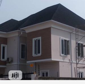 Black Shingles With White Profile Rain Gutter   Building Materials for sale in Lagos State, Lekki
