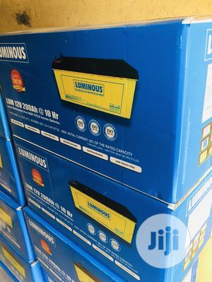 200ah 12v Luminous Solar Gel Battery   Solar Energy for sale in Lagos State, Ikoyi