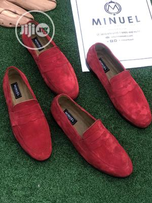 Red Suede Penny Loafers | Shoes for sale in Lagos State, Lekki