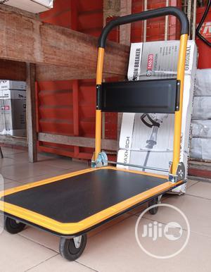300kg Platform Hand Truck Heavy Duty Industrial Trolleys | Store Equipment for sale in Lagos State, Ojo