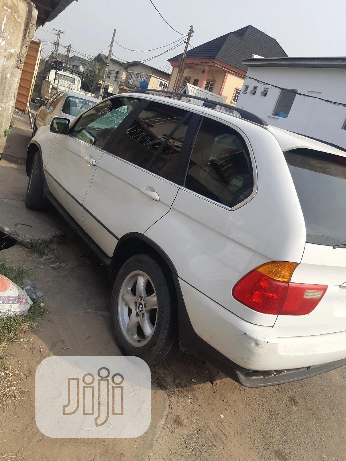 BMW X5 2005 4.4i White | Cars for sale in Surulere, Lagos State, Nigeria