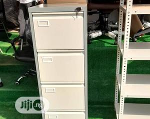 Quality 4drawer Metal Cabinet | Furniture for sale in Abuja (FCT) State, Central Business District