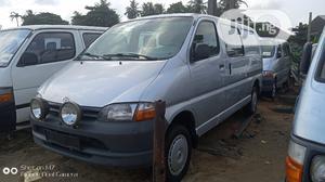 Toyota Hiace 2002.Fuel.Half Pan Half Seats | Buses & Microbuses for sale in Lagos State, Apapa