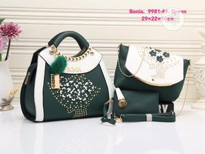 New Ladies Black Leather Turkey Handbag   Bags for sale in Lagos State, Isolo