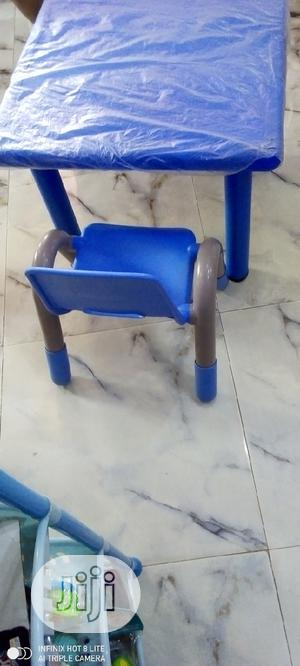Plastic Chair And Table   Children's Furniture for sale in Lagos State, Agege