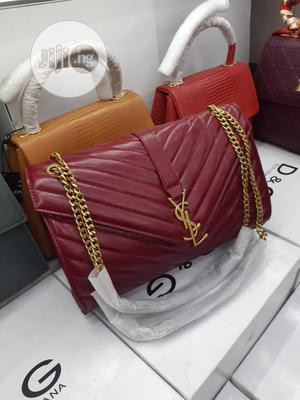 Classic Female YSL Leather Handbag   Bags for sale in Lagos State, Isolo