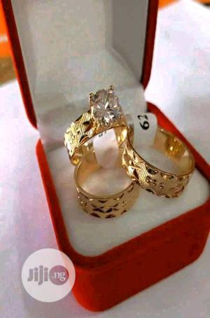 Wedding Ring Set Gold | Wedding Wear & Accessories for sale in Lagos State, Surulere