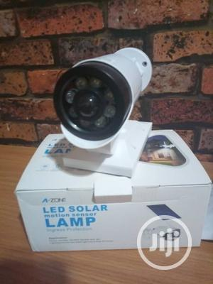 A-ZONE Led Solar Motion Sensor Lamp | Security & Surveillance for sale in Lagos State, Ikeja