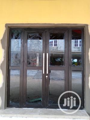 Aluminum Entance Swing Door   Doors for sale in Lagos State, Ipaja
