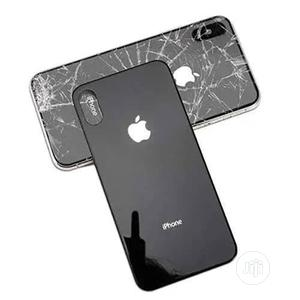 5D Full Glue Back Glass Protector For iPhone X | Accessories for Mobile Phones & Tablets for sale in Lagos State, Ikeja