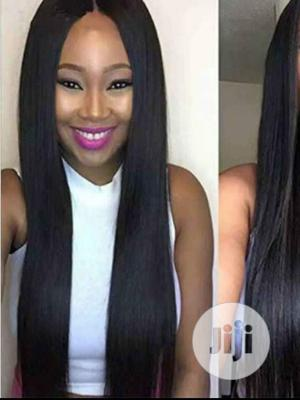 Straight Human Hair Wig | Hair Beauty for sale in Lagos State, Ikeja