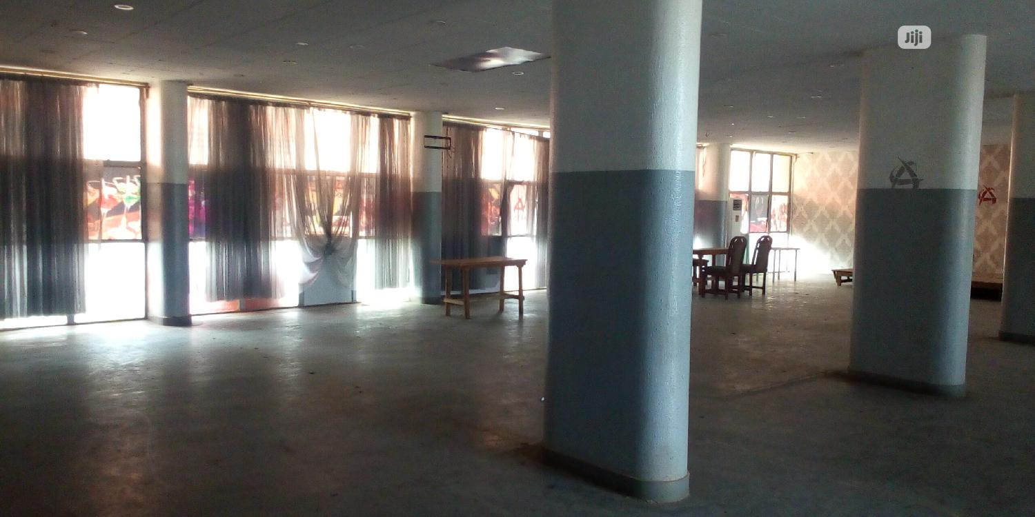 An Open Space at Dugbe