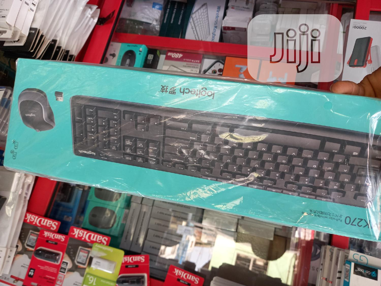 Mk270 Logitech Wireless Keyboard and Mouse