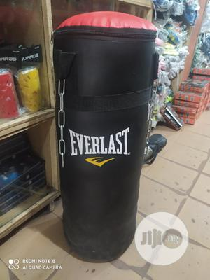 Everlast Leather Boxing Bag   Sports Equipment for sale in Lagos State, Lekki