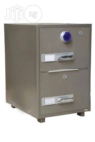 Archive: 2 Drawers Fireproof Cabinet Safe