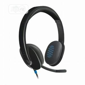 Logitech H540 USB Headset With Noise-Cancelling Mic   Headphones for sale in Lagos State, Ikeja