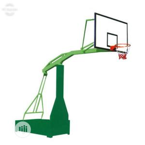 Basketball Stand (Fibre Glass Backboard | Sports Equipment for sale in Lagos State, Surulere