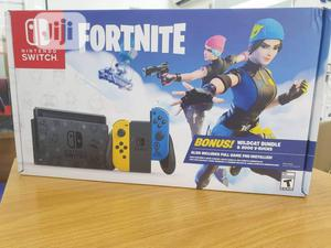 Nintendo Switch Console Fortnite Special Edition Game   Video Game Consoles for sale in Lagos State, Ikeja