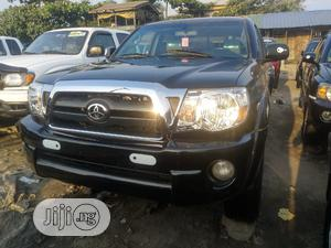 Toyota Tacoma 2008 4x4 Double Cab Black | Cars for sale in Lagos State, Apapa