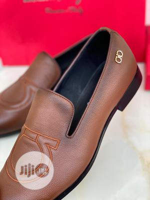 High Quality Ferragamo Brown Leather Loafers   Shoes for sale in Lagos State, Magodo