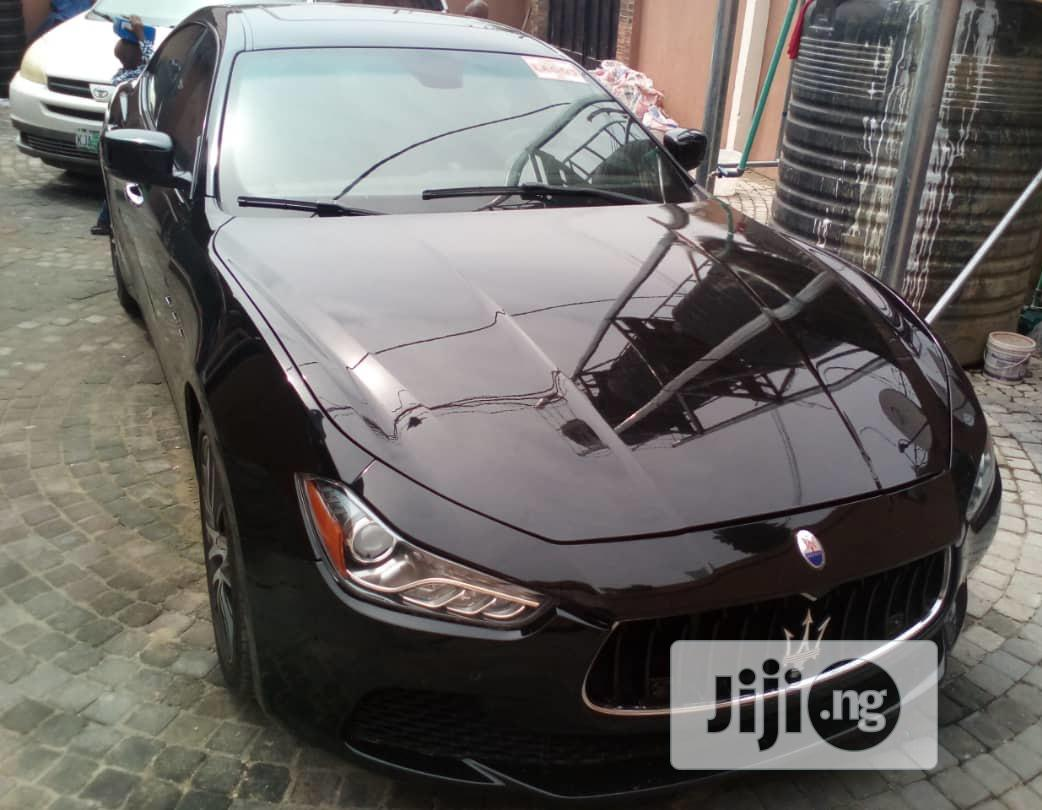 Maserati Ghibli 2015 Black