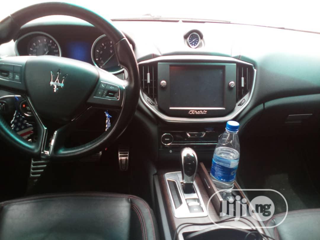 Maserati Ghibli 2015 Black | Cars for sale in Lekki, Lagos State, Nigeria