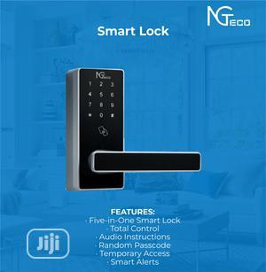 Keypad Wifi ID Card Door Lock Keyless Entry With Your Phone   Doors for sale in Lagos State, Lagos Island (Eko)
