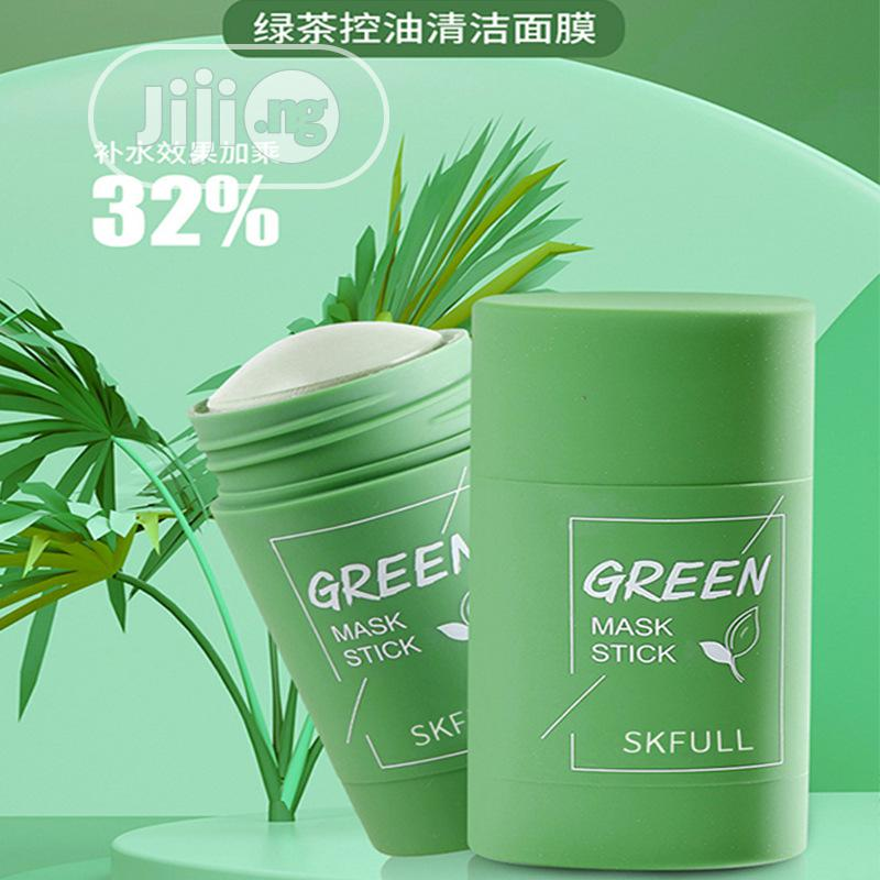 Green Mask Stick (For Smooth Face) Wholesale Only   Skin Care for sale in Orile, Lagos State, Nigeria