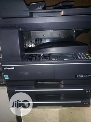 Kyocera/Olivetti D-Copia 2200 Multifunctional Black White | Printers & Scanners for sale in Lagos State, Surulere