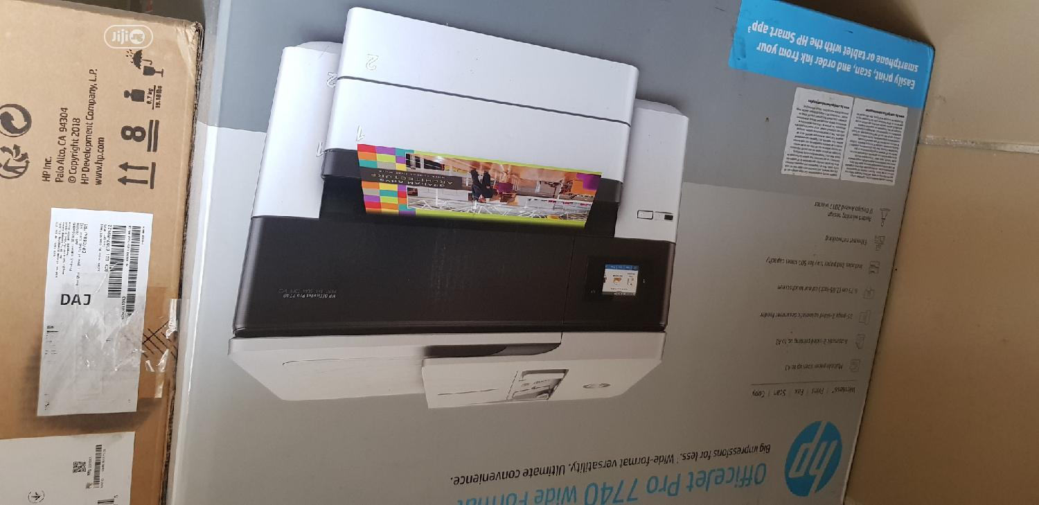 Archive: Hp Officejet Pro 7740 A3/A4 Wide Format All-In-One Printer