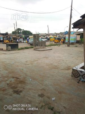 Commercial 2plot Of Land Together With Shops On Major Road | Commercial Property For Sale for sale in Lagos State, Abule Egba