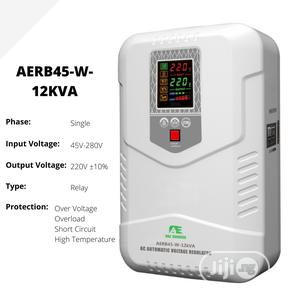 12kva Wall Mounted Single Phase Relay AVR / Stabilizer | Electrical Equipment for sale in Lagos State, Oshodi