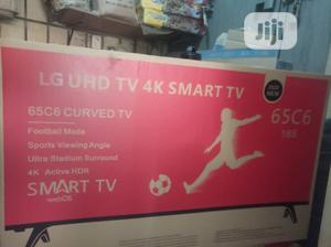 "Original L.G 65"" Smart Curved Television   TV & DVD Equipment for sale in Lagos State, Lagos Island (Eko)"