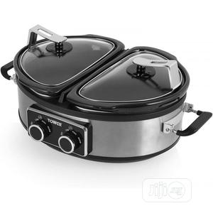 Tower Double 2 X 2.5L Slow Cooker   Kitchen Appliances for sale in Lagos State, Lekki