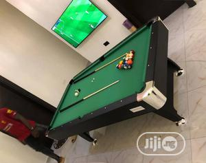 Snooker Table 7 And 8 Feet Blue And Green Felt   Sports Equipment for sale in Lagos State, Magodo