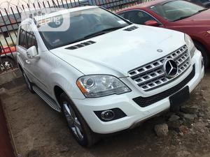 Mercedes-Benz M Class 2011 ML 350 4Matic White | Cars for sale in Lagos State, Ikeja