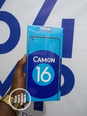 New Tecno Camon 16 128 GB Blue | Mobile Phones for sale in Lagos State, Ikeja