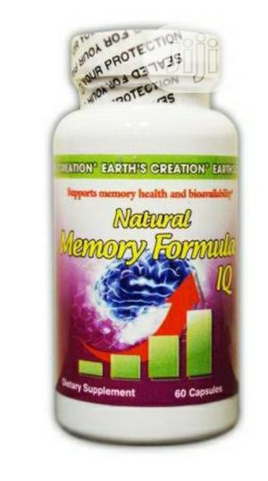 Earth's Creation Natural Memory Formula | Vitamins & Supplements for sale in Lagos State, Lekki