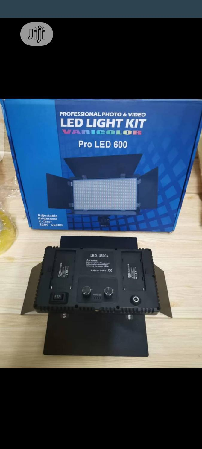 Rechargeable Pro Led 600 Kit Light   Accessories & Supplies for Electronics for sale in Apapa, Lagos State, Nigeria