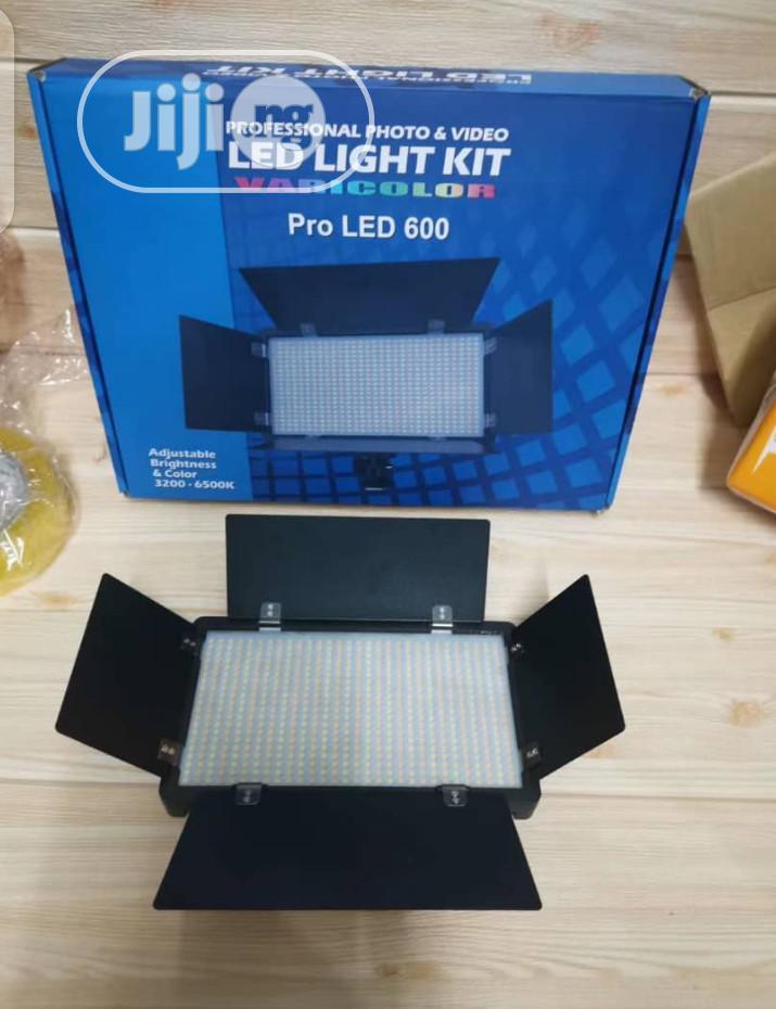 Rechargeable Pro Led 600 Kit Light