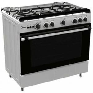 Midea Gas Cooker, 5 Gas Burners Cooker With Oven and Grill | Kitchen Appliances for sale in Lagos State, Ajah