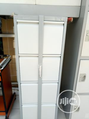 High Quality Metal Cabinet With Iron Protector | Furniture for sale in Abuja (FCT) State, Gwarinpa