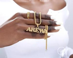 Customize Name Sign On Necklace, Ring, Anklet, Earrings   Jewelry for sale in Lagos State, Alimosho