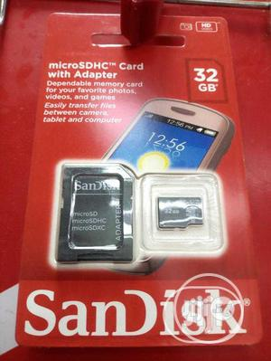Sandisk 32gb Memory Card | Accessories & Supplies for Electronics for sale in Lagos State, Ikeja