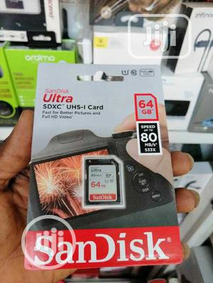 Sandisk 64gb Memory Card | Accessories & Supplies for Electronics for sale in Lagos State, Ikeja