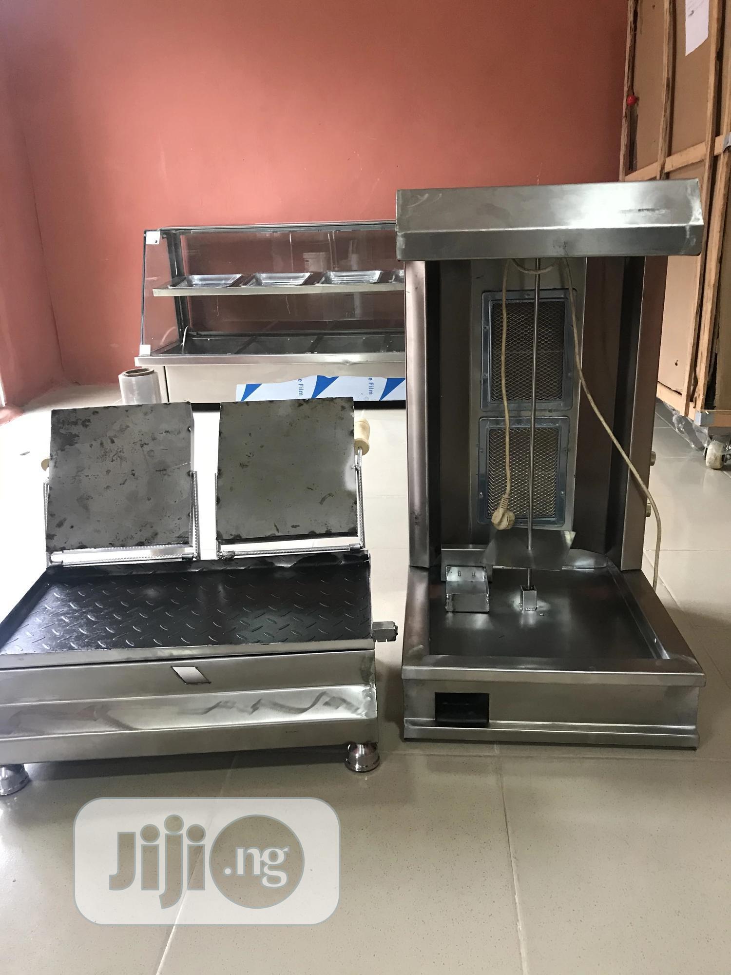 Shawarma Machine With Toaster