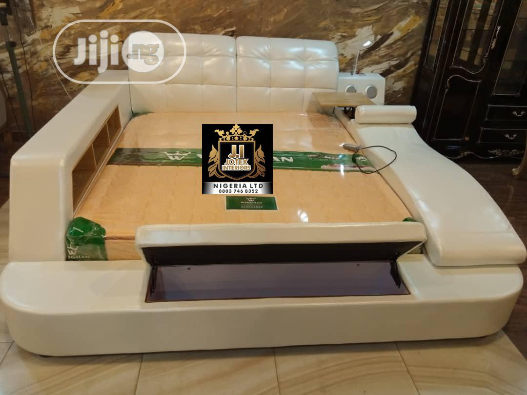 Archive: Unique Leather Bed