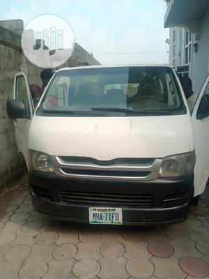 Toyota Hiace Bus 2008 White | Buses & Microbuses for sale in Rivers State, Obio-Akpor