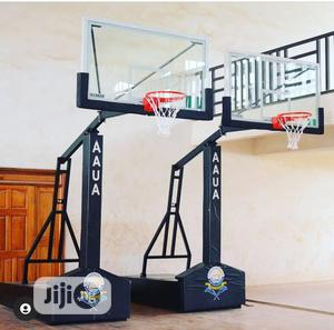 Basketball Post Senior Portable   Sports Equipment for sale in Lagos State, Ajah